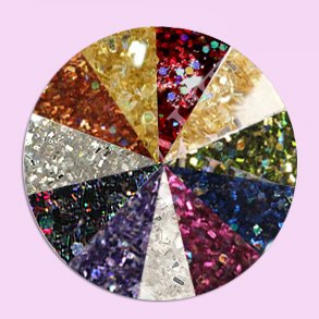 Akryl Pulver Glitter