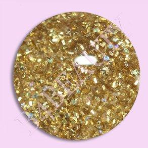 Akryl Pulver Guld