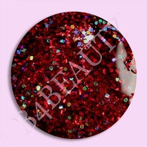 Akryl Pulver Rød