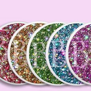 Nagel Glitter