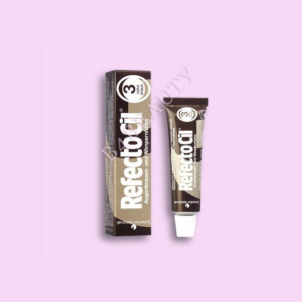 Natur Brun 15 ml. · Vippe / Bryn Farve · RefectoCil