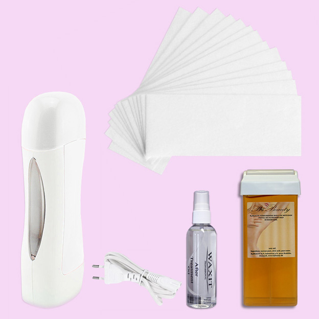 Sugar Wax Hair Removal Kit Roll On System 100% Pure Nature · B4B