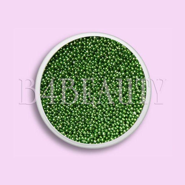 Grøn 3,5 ml. · Metal Perler · Nail Art