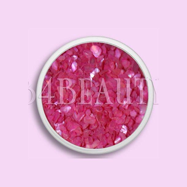 Mørke Pink 3,5 ml. · Crushed Sea Shell · Nail Art