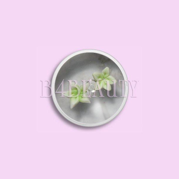 Små Grønne 2 stk. · Keramik Blomster · Nail Art