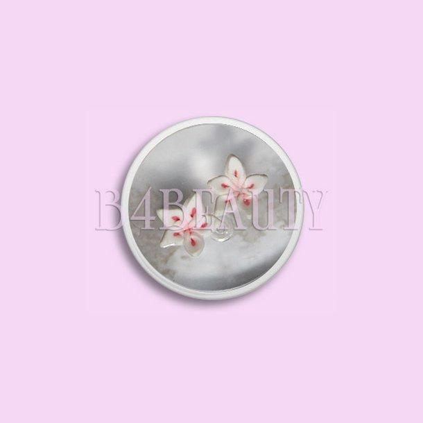Små Røde 2 stk. · Keramik Blomster · Nail Art