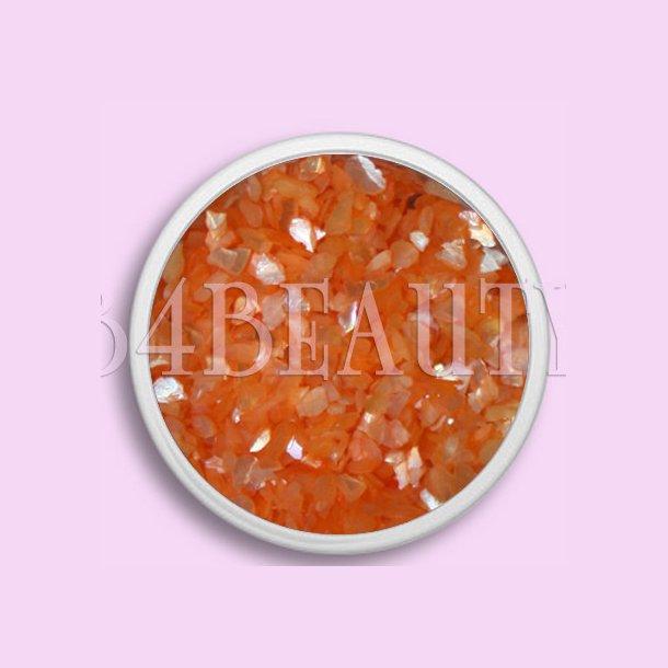 Orange 3,5 ml. · Crushed Sea Shell · Nail Art