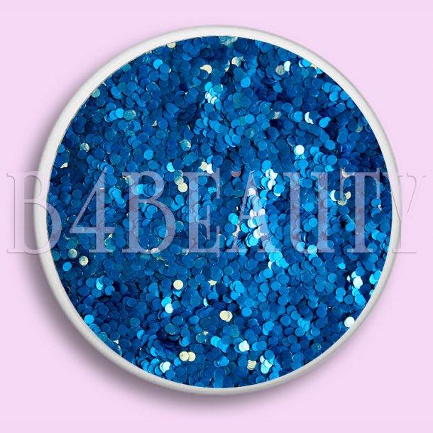 Blå 3,5 ml. · Round Dazzling · Nail Art