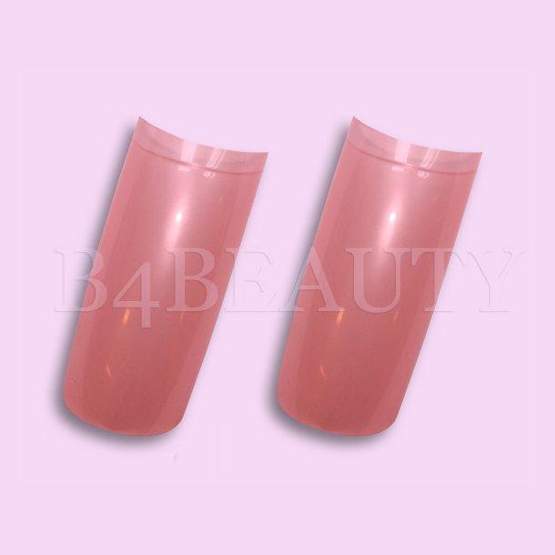 Pink 70 stk. · Farvede Tipper · Negle Tipper