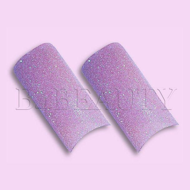 Sugar Light Purple 70 stk. · Glitter Tipper · Negle Tipper