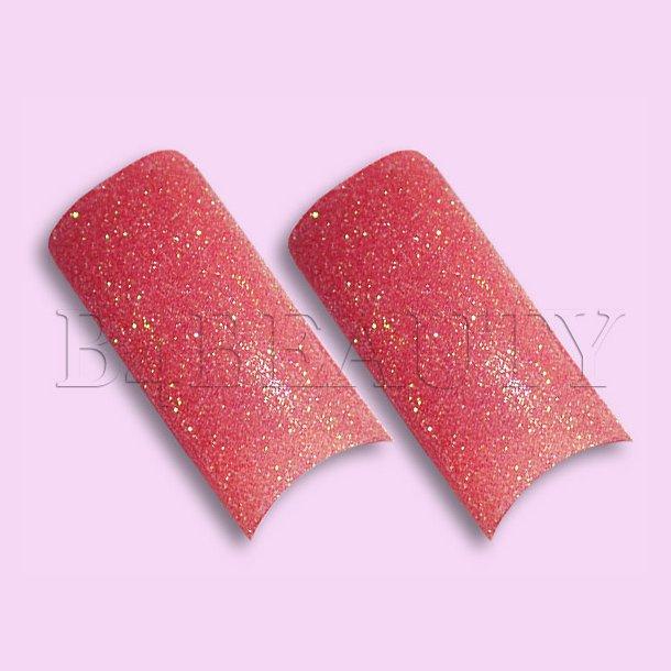 Sugar Rød 70 stk. · Glitter Tipper
