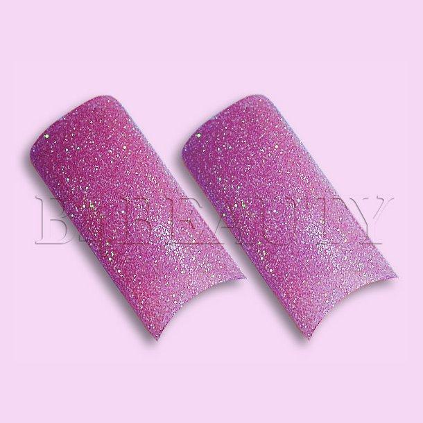 Sugar Pink 70 stk. · Glitter Tipper · Negle Tipper