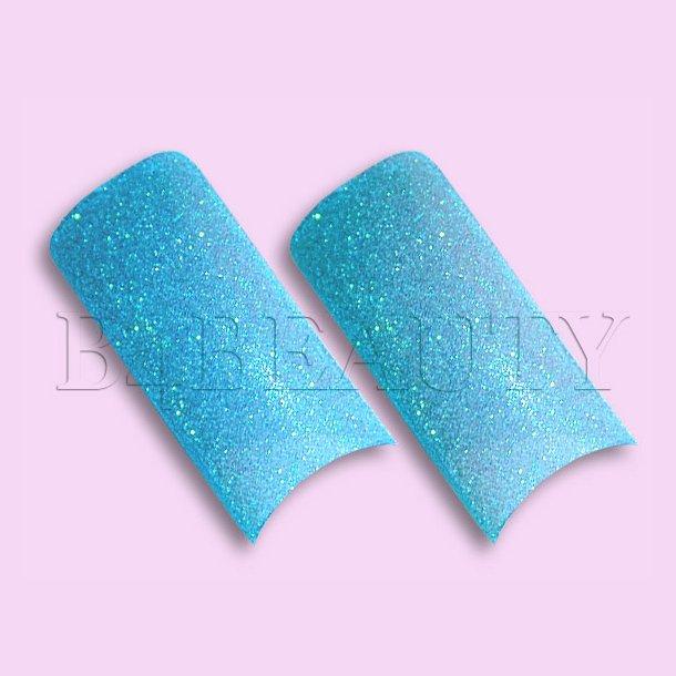 Sugar Tyrkis 70 stk. · Glitter Tipper
