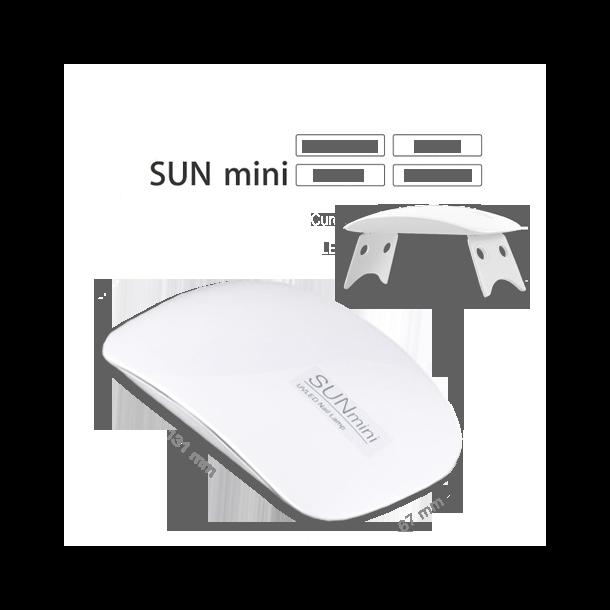 Handla Mini UV LED Lampa för Naglar, Vit | vidaXL.se