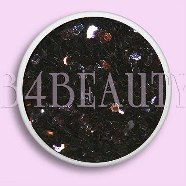 Sort 3,5 ml. 1 mm. · Mylar Hexagon · Nail Art