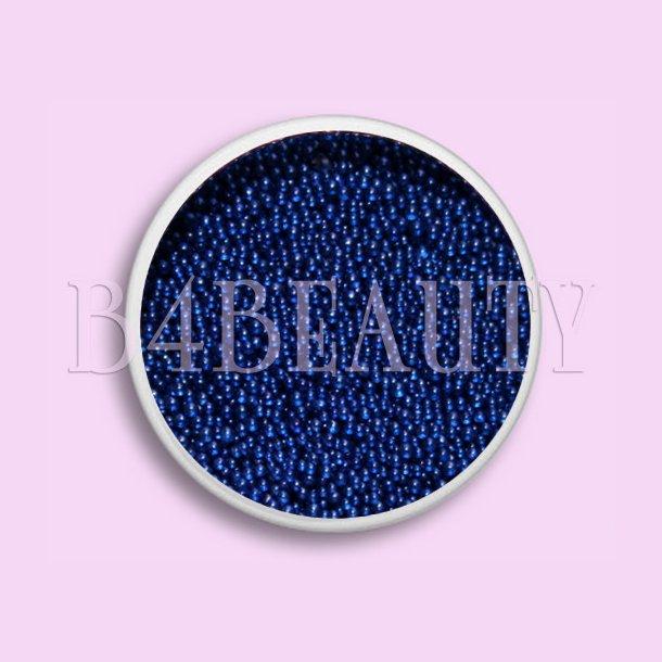 Blå 3,5 ml. · Metal Perler · Nail Art