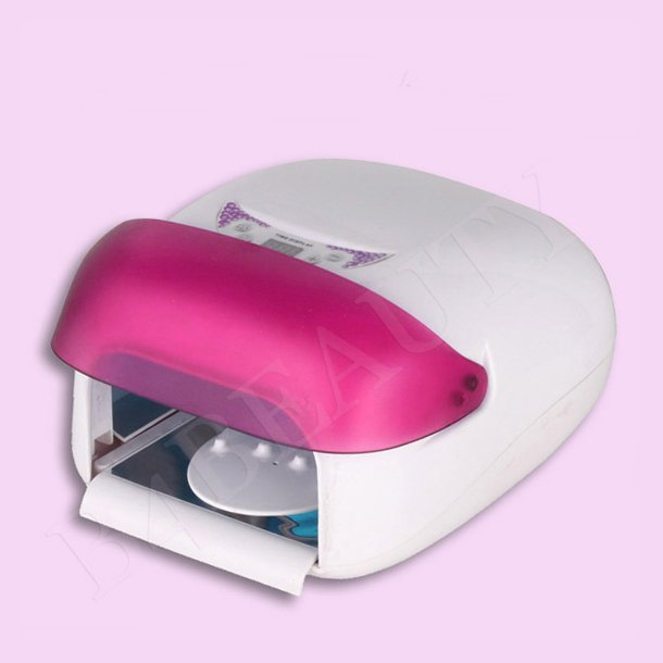 UV Gel Lamp 36 Watt. ( Pink M. Klap ) · B4B