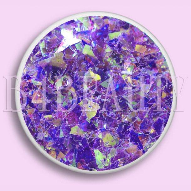 Purple 3,5 ml. · Mylar Flake · Nail Art