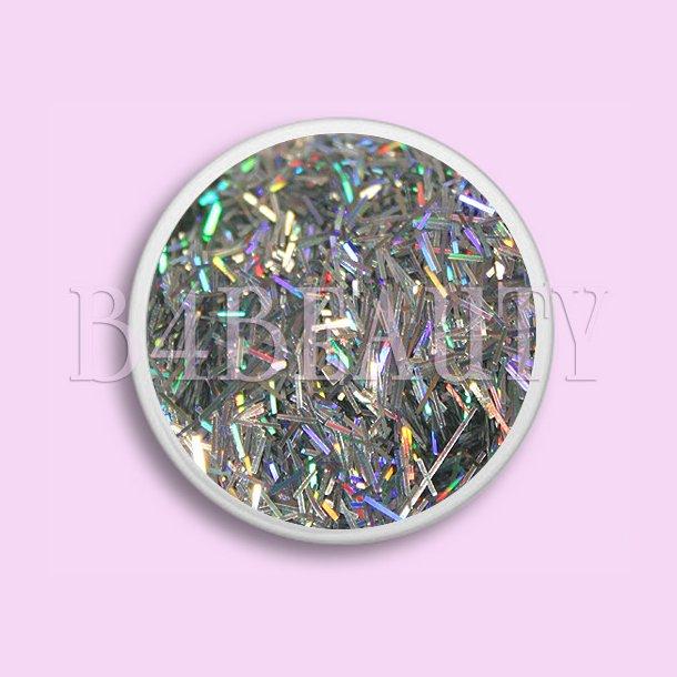Sølv 3,5 ml. · Metal Flitter · Nail Art
