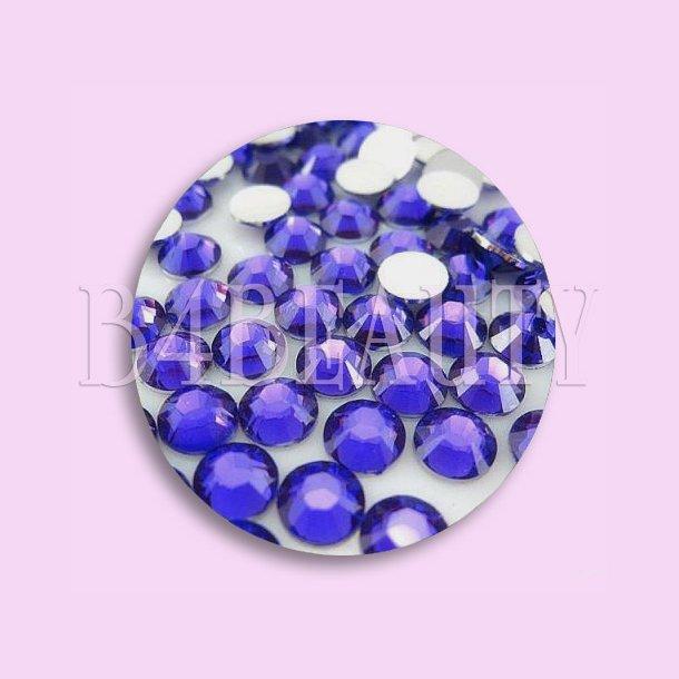 Blue 1,6 mm. 100 st. · Rhinestone · Nail Art