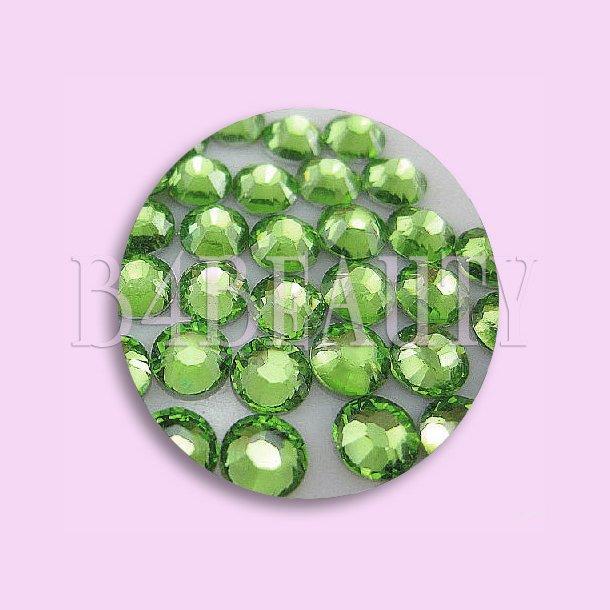 Light Green 1,6 mm. 100 stk. · Rhinestone · Nail Art