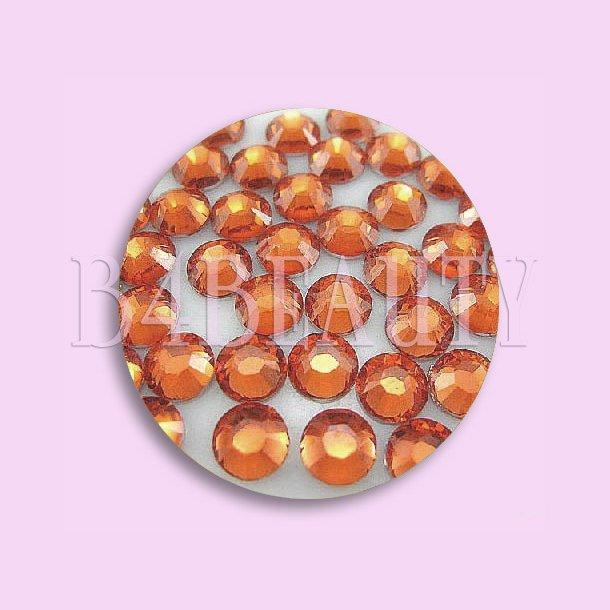Orange 1,6 mm. 100 stk. · Rhinestone · Nail Art