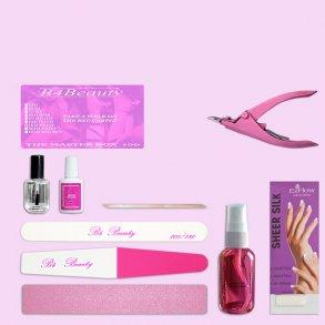 Fibergl Kit Select Nail Tips 100 Pc B4b