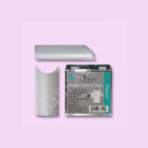 Natural Tipper Perfection II Refill 50 stk. · EzFlow · Negle Tipper