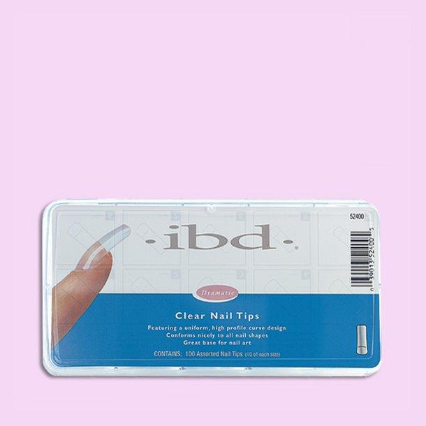 IBD Clear 100 stk. · Glas Tipper · Negle Tipper