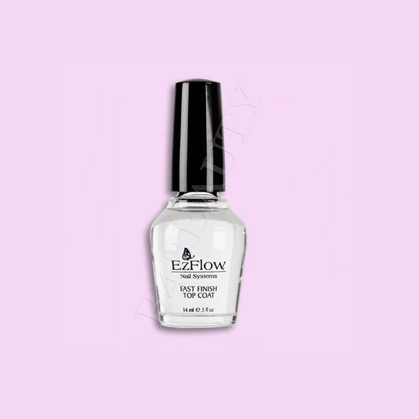 Top Coat · Fast Finish 14 ml. · EzFlow